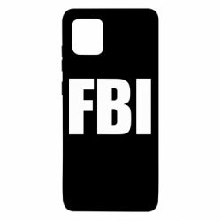 Чехол для Samsung Note 10 Lite FBI (ФБР)
