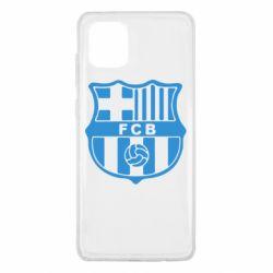 Чехол для Samsung Note 10 Lite FC Barcelona