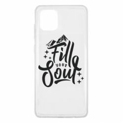 Чохол для Samsung Note 10 Lite Fill your soul and mountains