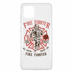 Чохол для Samsung Note 10 Lite Fire Fighter
