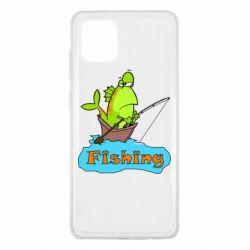 Чехол для Samsung Note 10 Lite Fish Fishing