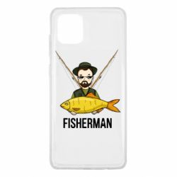 Чохол для Samsung Note 10 Lite Fisherman and fish