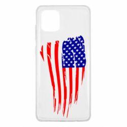 Чохол для Samsung Note 10 Lite Прапор США