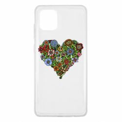 Чохол для Samsung Note 10 Lite Flower heart