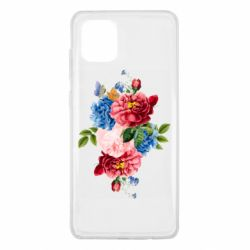 Чохол для Samsung Note 10 Lite Flowers and butterfly