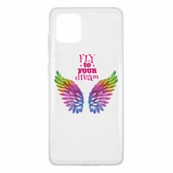 Чохол для Samsung Note 10 Lite Fly to your dream