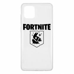 Чехол для Samsung Note 10 Lite Fortnite and llama