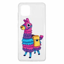 Чехол для Samsung Note 10 Lite Fortnite colored llama