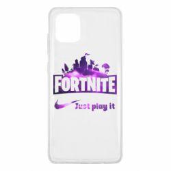 Чохол для Samsung Note 10 Lite Fortnite just play it