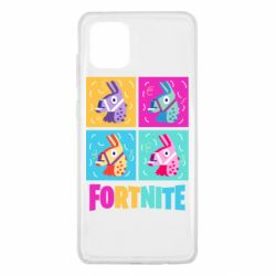 Чехол для Samsung Note 10 Lite Fortnite Llamas