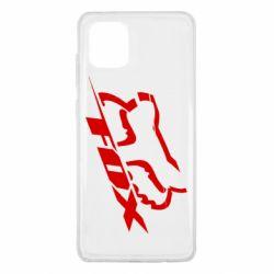 Чехол для Samsung Note 10 Lite FOX Racing
