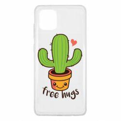 Чохол для Samsung Note 10 Lite Free Hugs Cactus