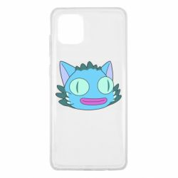 Чехол для Samsung Note 10 Lite Funny cat from Rick and Morty season 4