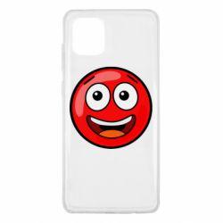 Чохол для Samsung Note 10 Lite Funny Red Ball