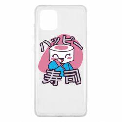 Чехол для Samsung Note 10 Lite Funny sushi