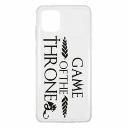 Чохол для Samsung Note 10 Lite Game of thrones stylized logo