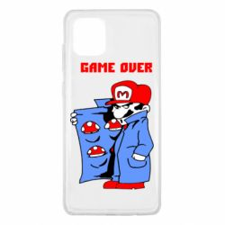 Чехол для Samsung Note 10 Lite Game Over Mario