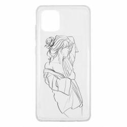 Чехол для Samsung Note 10 Lite Girl after a shower