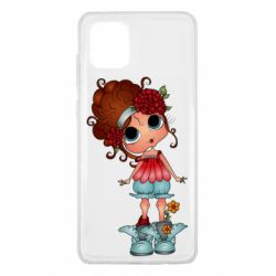Чехол для Samsung Note 10 Lite Girl with big eyes