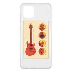 Чохол для Samsung Note 10 Lite Гітара