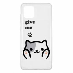 Чохол для Samsung Note 10 Lite Give me cat