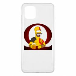 Чохол для Samsung Note 10 Lite God of war: Simpson