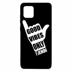 Чехол для Samsung Note 10 Lite Good vibes only Fendi