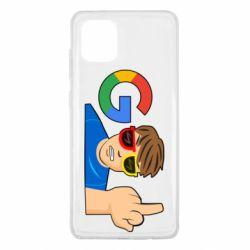 Чохол для Samsung Note 10 Lite Google guy Fuck You