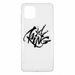 Чехол для Samsung Note 10 Lite Graffiti king