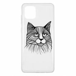 Чохол для Samsung Note 10 Lite Graphic cat