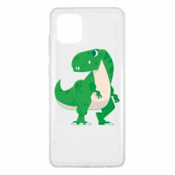 Чохол для Samsung Note 10 Lite Green little dinosaur
