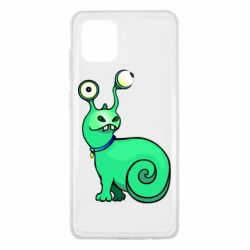 Чехол для Samsung Note 10 Lite Green monster snail