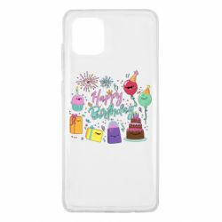 Чохол для Samsung Note 10 Lite Happy Birthday