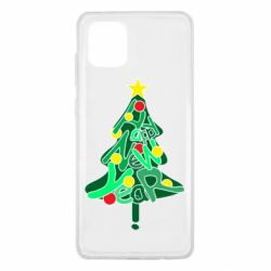 Чохол для Samsung Note 10 Lite Happy new year on the tree