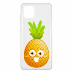 Чехол для Samsung Note 10 Lite Happy pineapple