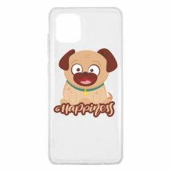 Чехол для Samsung Note 10 Lite Happy pug