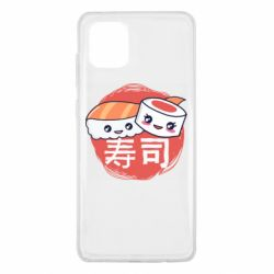 Чехол для Samsung Note 10 Lite Happy sushi