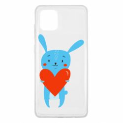 Чохол для Samsung Note 10 Lite Hare with a heart