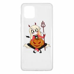Чехол для Samsung Note 10 Lite Hazbin Hotel Charlie and pumpkin