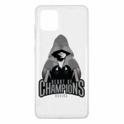 Чехол для Samsung Note 10 Lite Heart of Champions