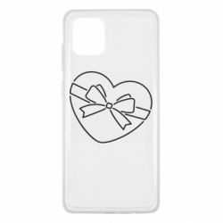 Чохол для Samsung Note 10 Lite Heart with a bow