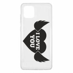 Чохол для Samsung Note 10 Lite Heart with wings