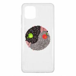 Чохол для Samsung Note 10 Lite Hedgehogs yin-yang