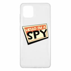 Чохол для Samsung Note 10 Lite Hello i'm a spy