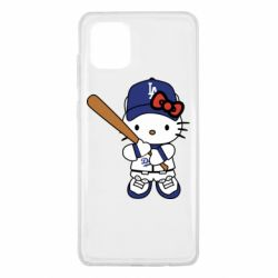 Чохол для Samsung Note 10 Lite Hello Kitty baseball