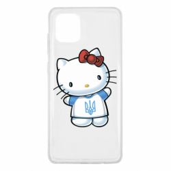 Чехол для Samsung Note 10 Lite Hello Kitty UA
