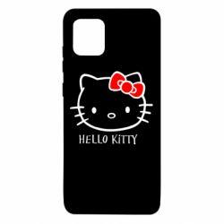 Чехол для Samsung Note 10 Lite Hello Kitty