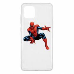 Чехол для Samsung Note 10 Lite Hero Spiderman