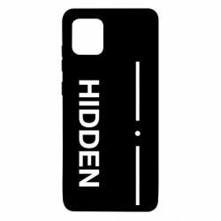 Чохол для Samsung Note 10 Lite Hidden