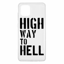 Чехол для Samsung Note 10 Lite High way to hell